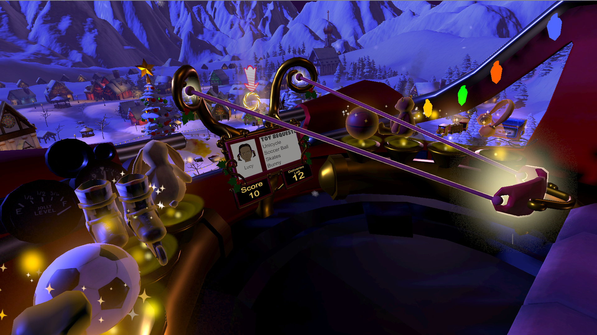 Santa Sling VR