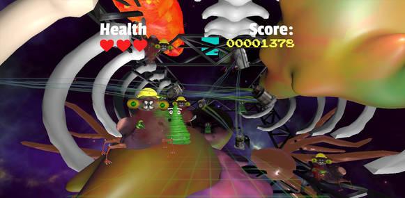 SpaceFrog VR Arcade Edition