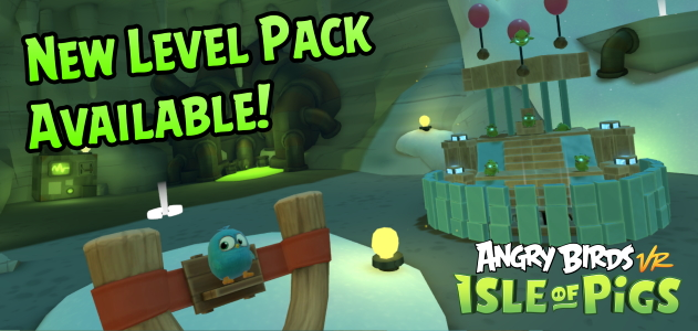 Angry Birds Isle of Pigs Halloween Update