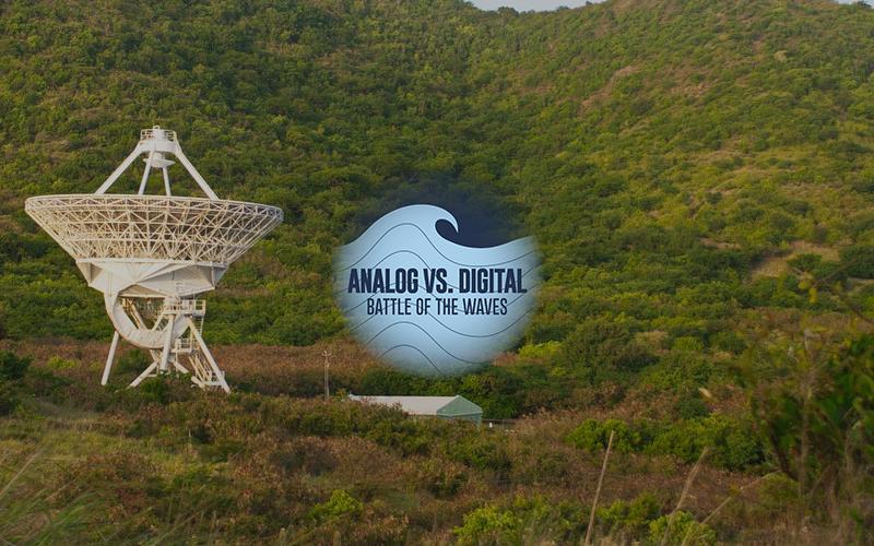 Waves - Analog vs Digital Image