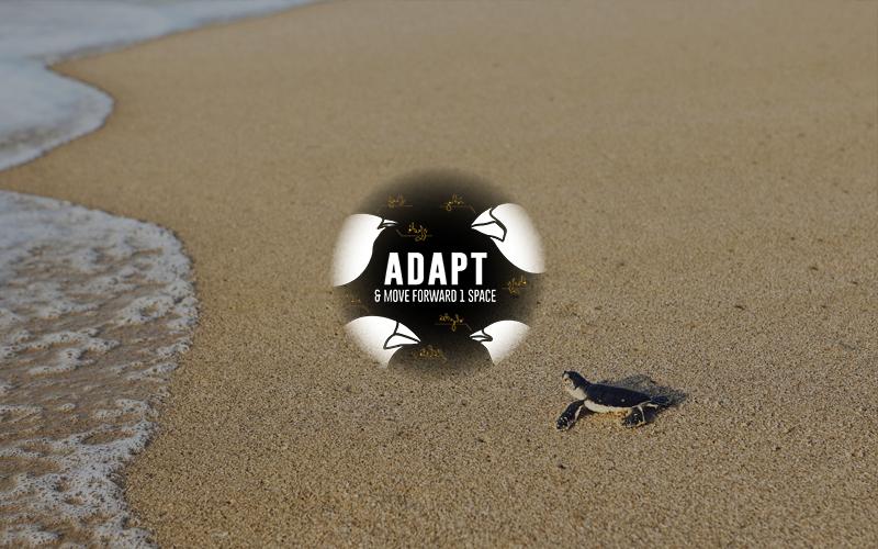 Biological Evolution - Adapt and Move Forward Image