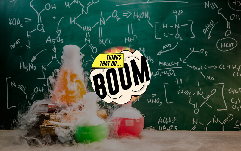 Chemical Reactions - Things That Go Boom Image