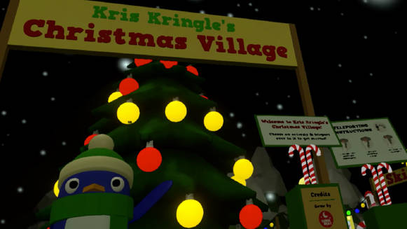 Kris Kringle's Christmas Village VR