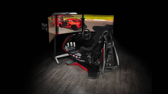 ImSim - hyper-realistic 3DOF motion simulator