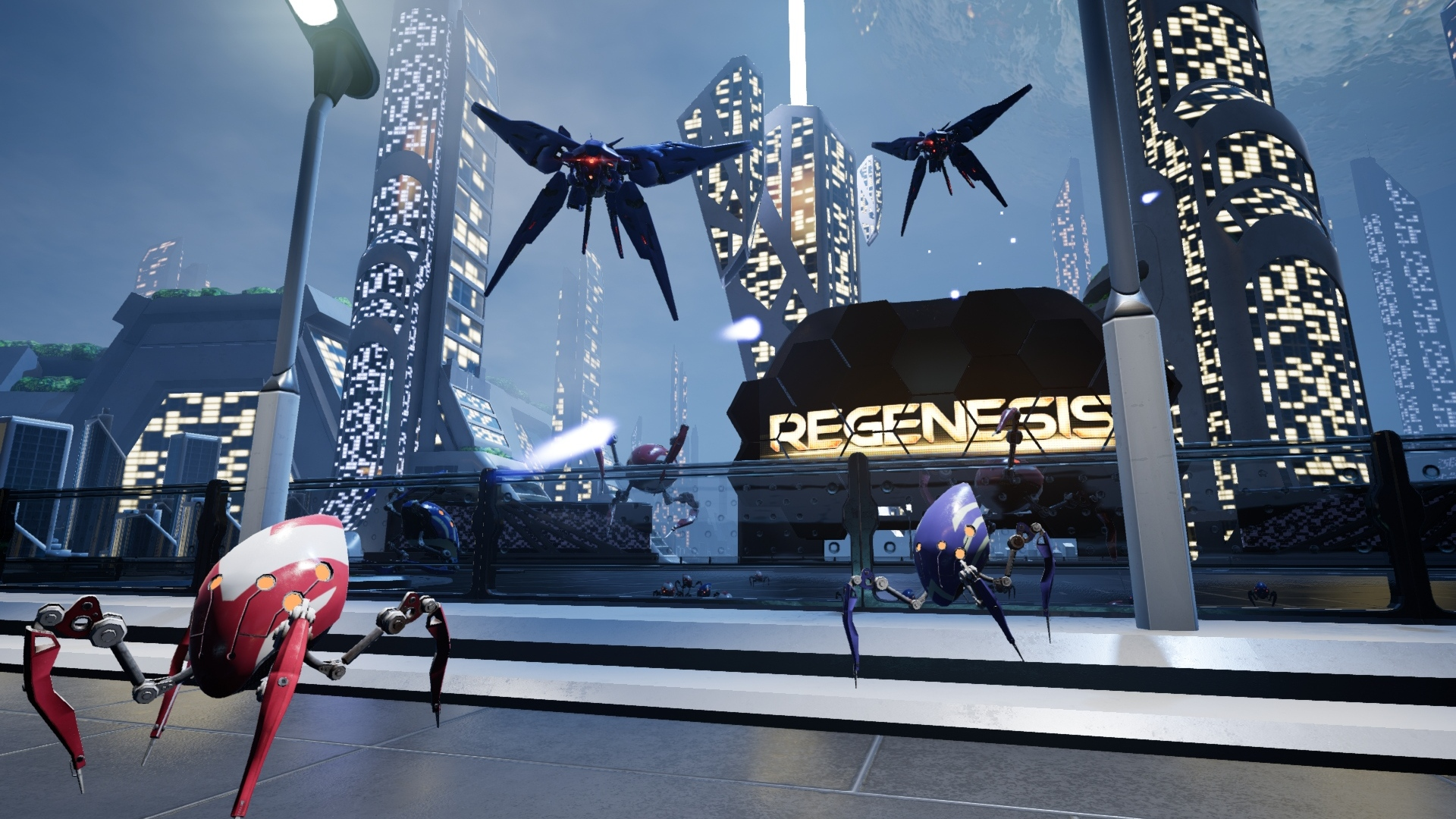 Regenesis Arcade Location based VR
